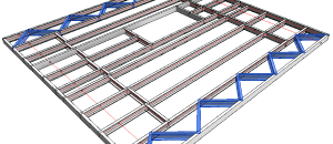 New Metal Framing Floor+ versions 2016 / 2017 are released!
