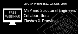 WEBINAR: New Technology for MEP and Structural Engineers' Collaboration Announcement