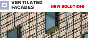 NEW Solution! Ventilated Facades – Take your walls to the next level in Revit!