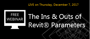 WEBINAR: The Ins & Outs of Revit Parameters