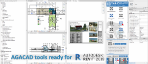 AGACAD Solutions Compatible with Revit 2019 Released!