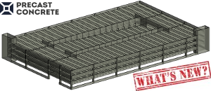 BIM solution Precast Concrete delivers new features
