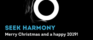 Warm holiday wishes for happiness and harmony