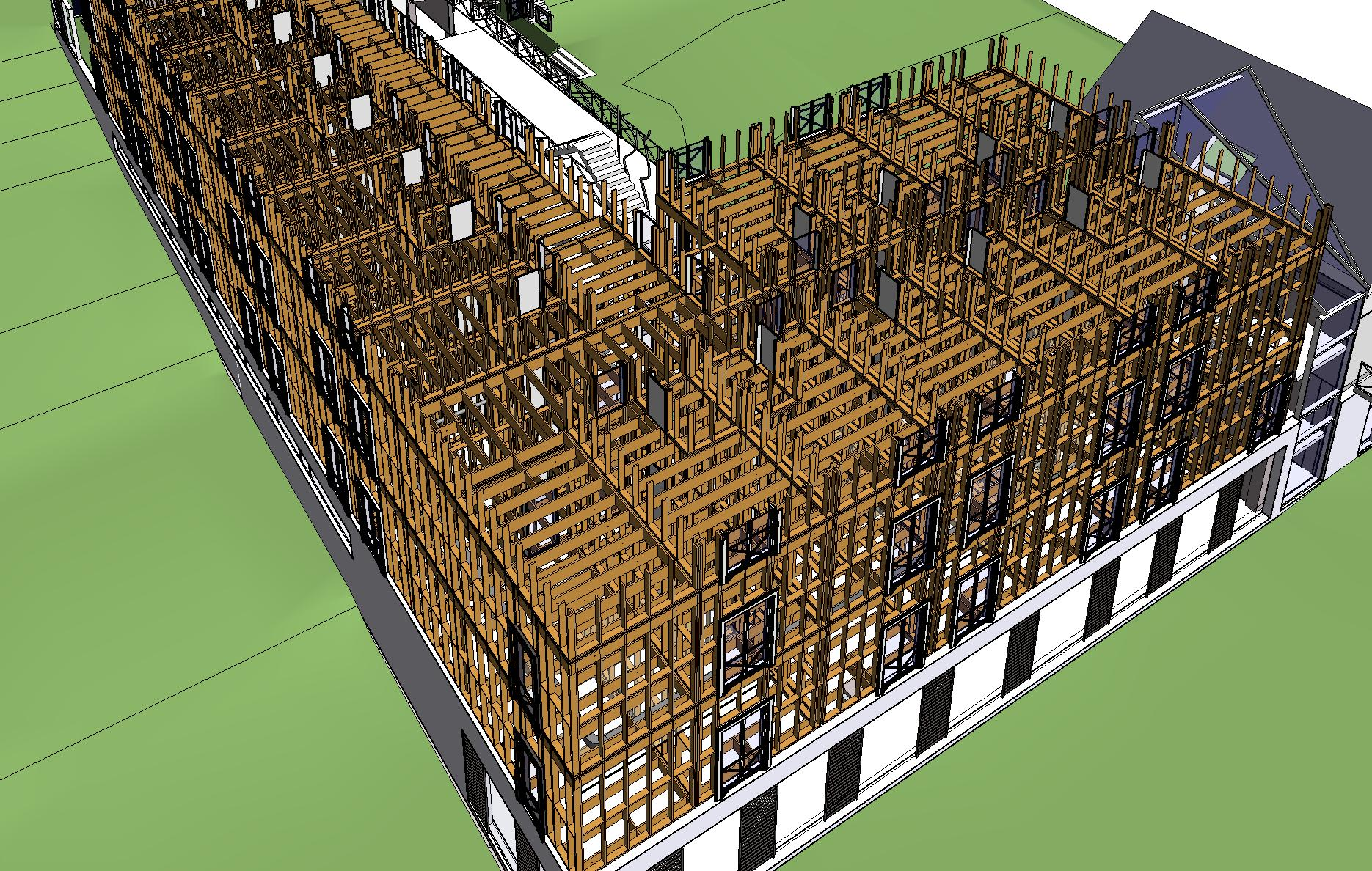 Perfect Bim Software For Multi Story Framing New Metal