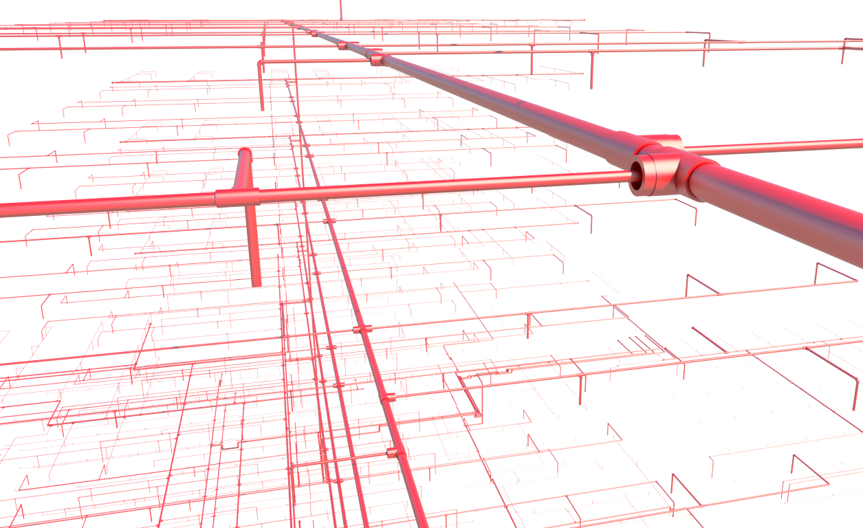 fire sprinkler system design in revit mep smart sprinklers