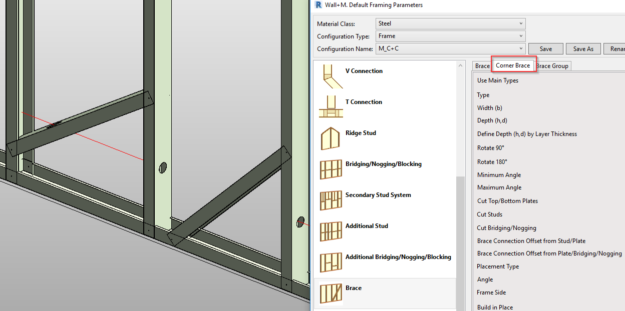 What's new in Metal Framing Walls? Vertical/horizontal