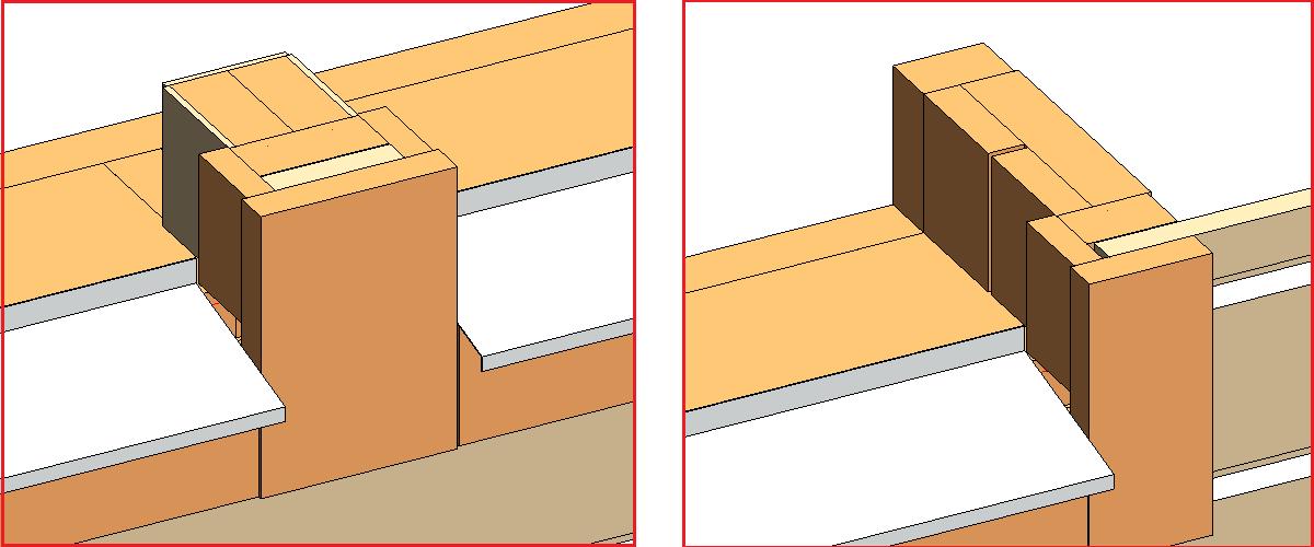 Window-Window join and Window side framing