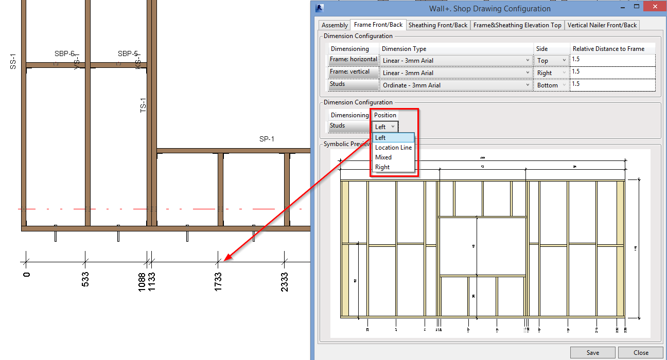 Whats new in wood framing wall 201610 and 201510 agacad tools4bim we added a possibility to show only one framing layer for example if there are two vertical nailers in the wall you can present them in the separate publicscrutiny Images