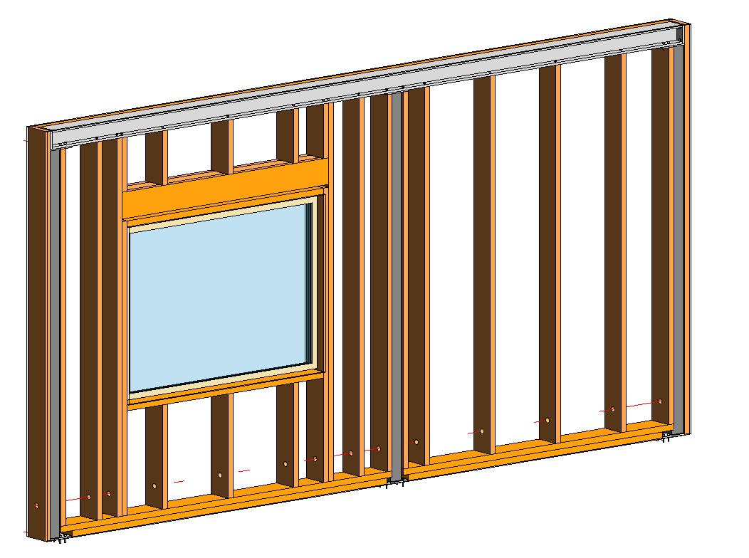 Framing Timber Walls In Revit 174 Model Wood Framing Wall