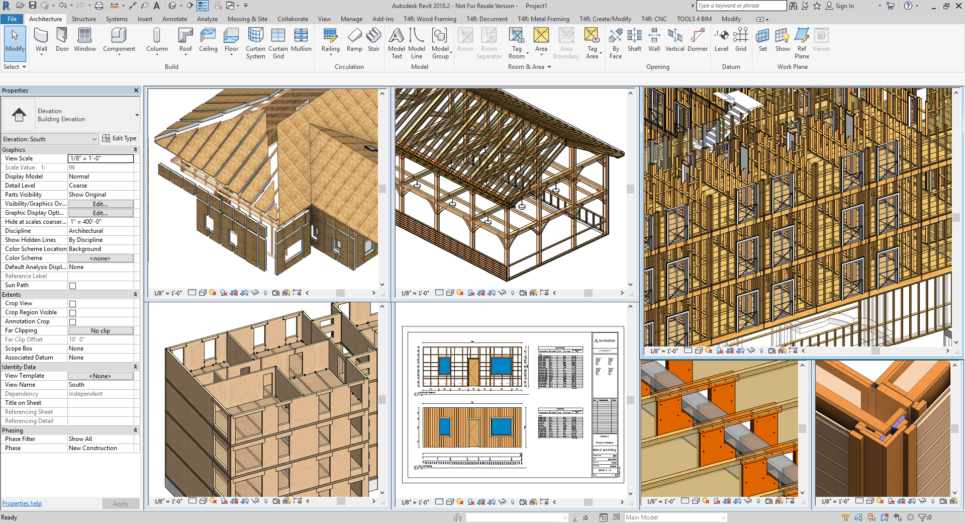 Wood Framing Bim Software For Prefabricated Timber Frame System Design In Revit Structural Engineering 3d Modeling Detailing Documentation Coordination Construction Agacad