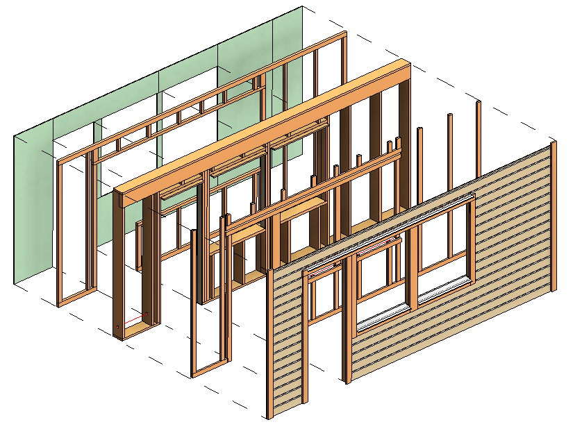 Selected Additional Wood Framing Wall+ Features: