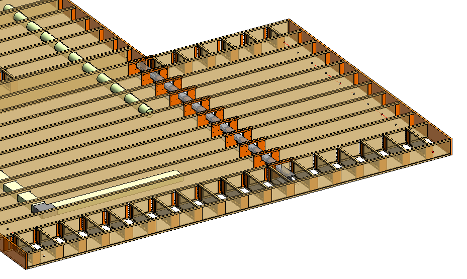 Automatical Join Connections: I-Joist with HEB