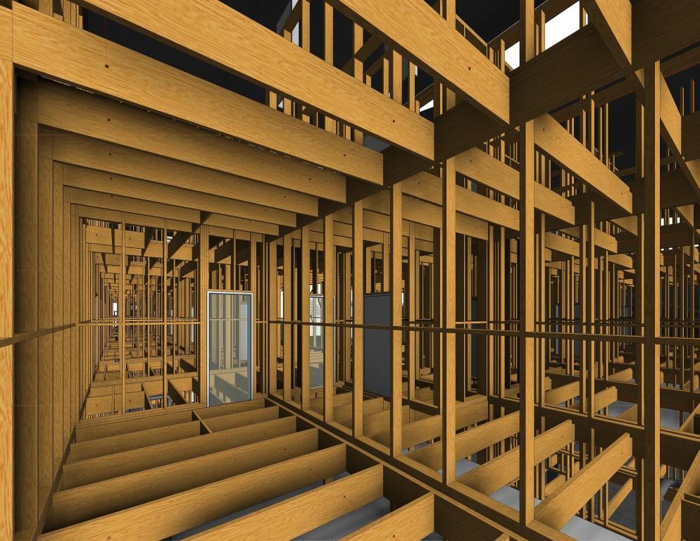 Framing Revit 174 With Light Frame Timber Floor Systems