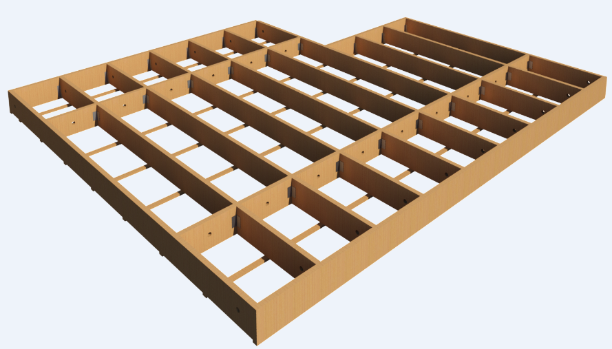 Framing Revit® with Light Frame Timber Floor Systems | Wood Framing ...