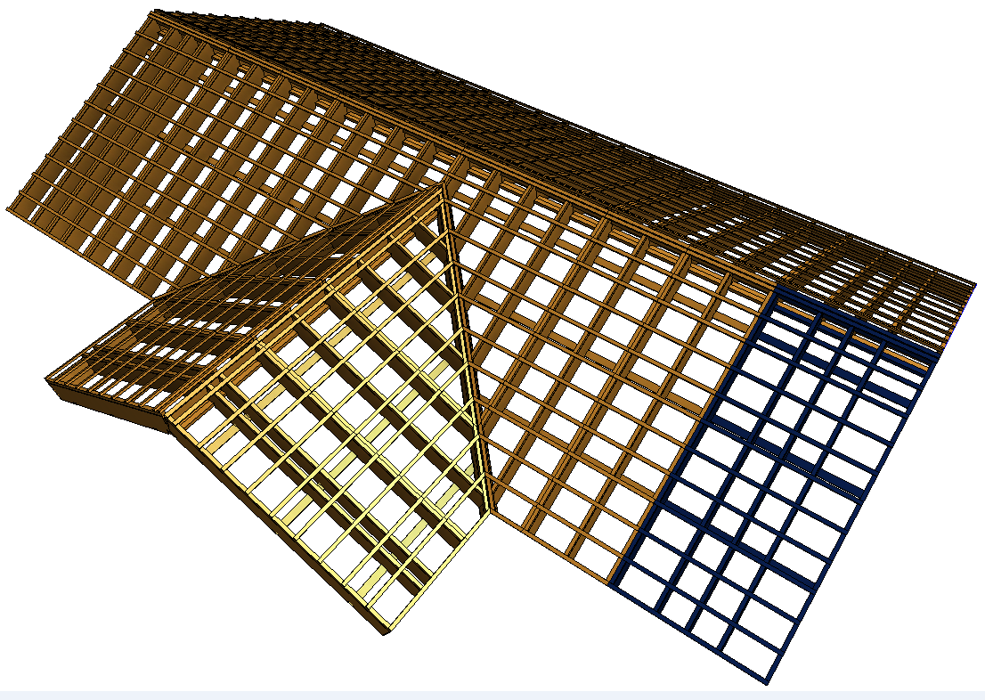Coming soon new prefabricated wooden roof framing for Roof framing cost