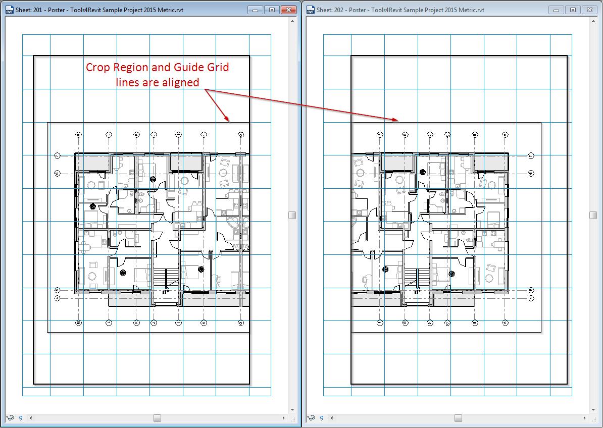 Tips on Splitting Views on Multiple Sheets in Revit