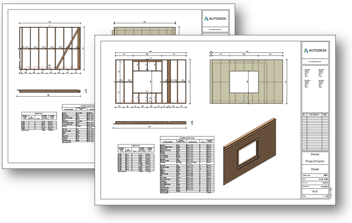 Framing Timber Walls in Revit® Model | Wood Framing Wall+