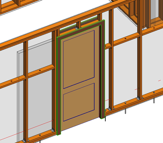 Wood Frame Wall correct way of inserting pocket doors in wooden frame walls in
