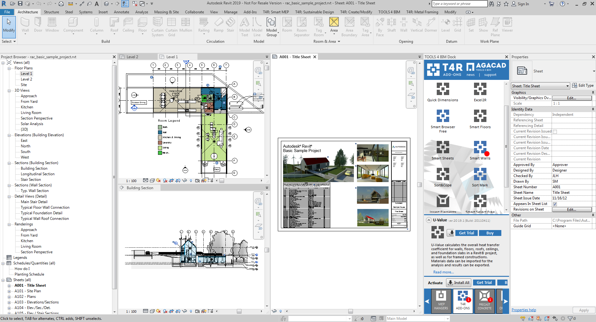 AGACAD Solutions Compatible with Revit 2019 Released! | AGACAD TOOLS4BIM