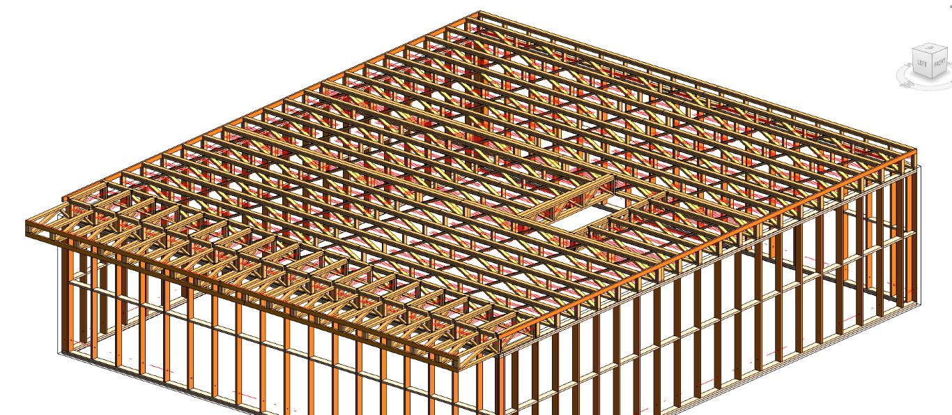 Timber Framing for Revit®: Roof Trusses | Wood Framing