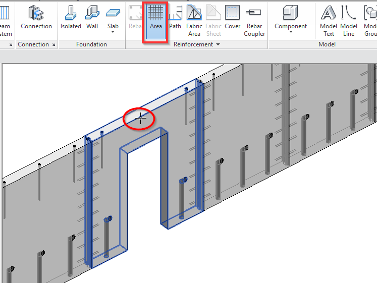 The Quickest Way to Insert Area Reinforcement in Revit Model