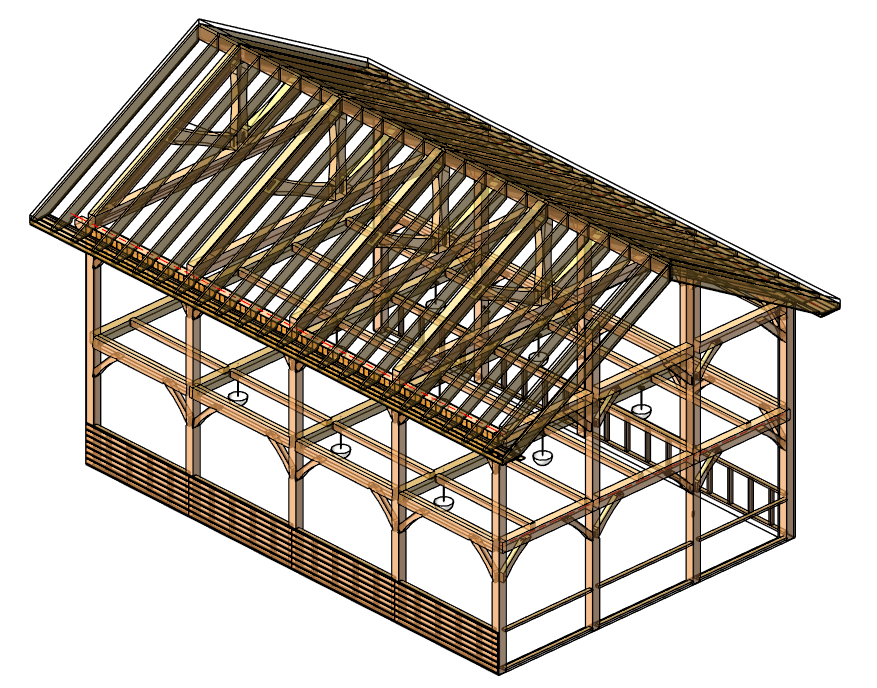 Webinar Wrap Up Framing With Heavy Timber In Revit