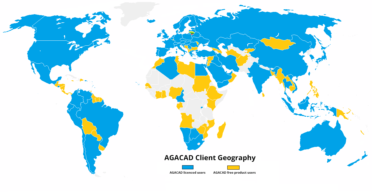 Review of agacads global growth and activities in 2016 agacad life at agacad is always dynamic and the past year was no exception the company continued its international growth and constant innovation to secure ever gumiabroncs Choice Image