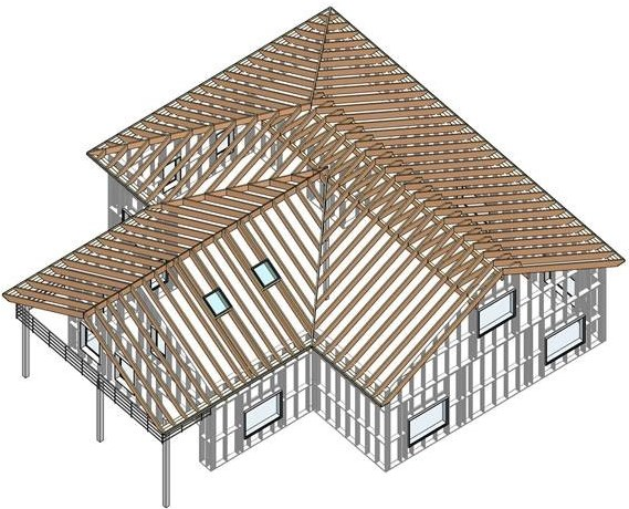More Rafter Technology added to AGACAD Roof Framing