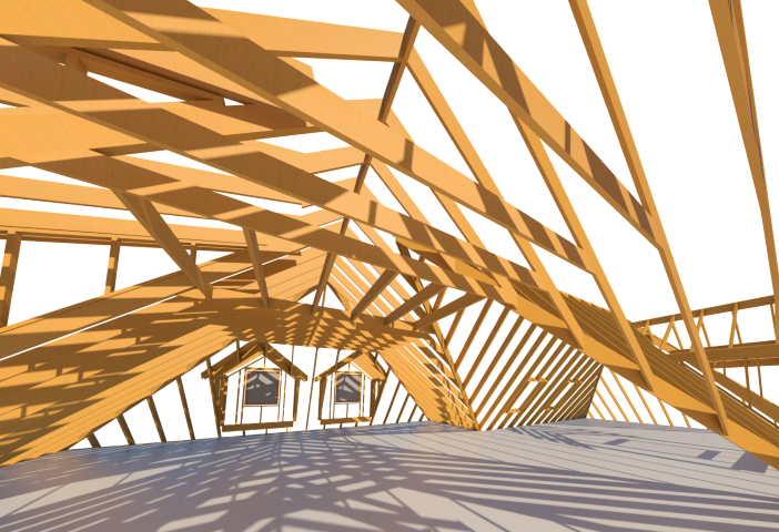 Rafter Framing For Roof Models In Revit 174 Wood Framing