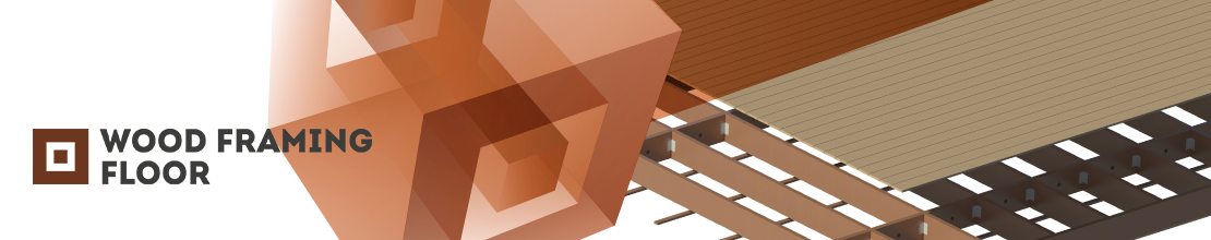 BIM software for efficiently designing wood-frame floors