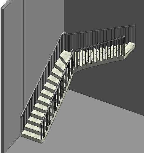How to Create & Adjust Wall Mounted Railings in Revit® Project  Part