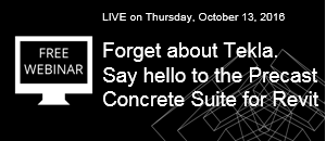 Forget about Tekla  Say hello to the Precast Concrete Suite