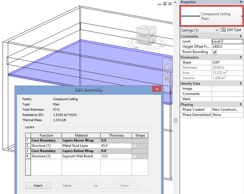 Soon Metal Framing Floor+ will support Ceilings, not just Floors ...