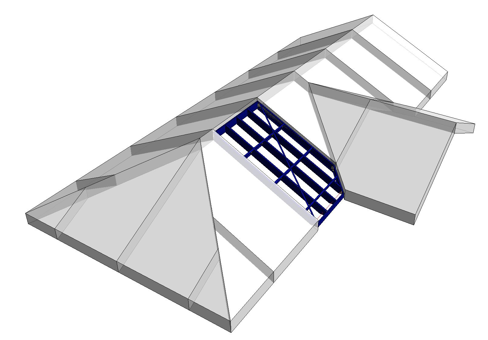 New Prefabricated Metal Roof Framing Solution For Revit