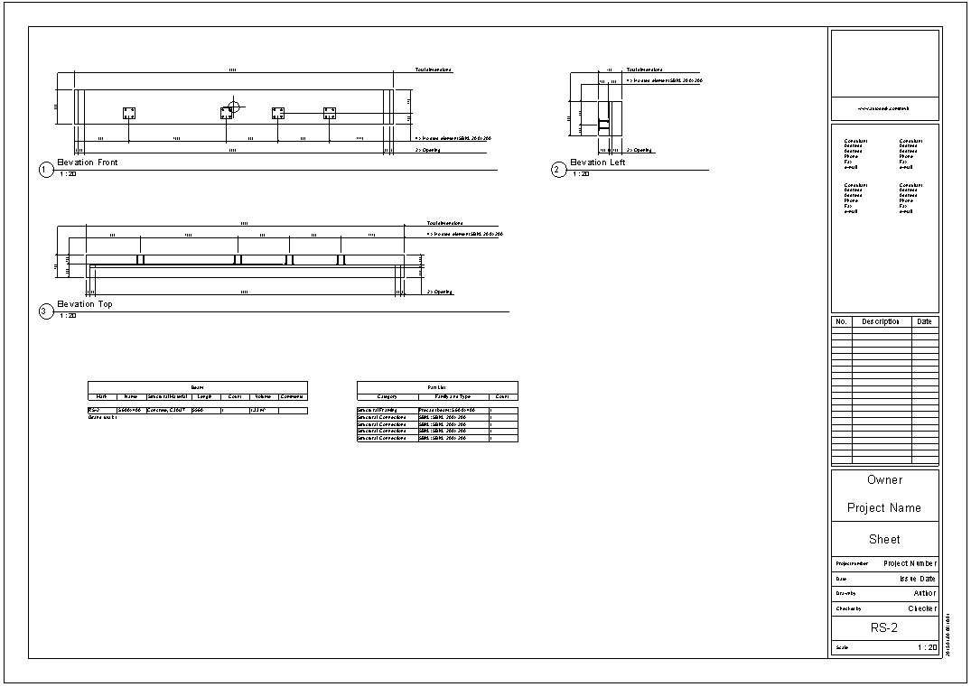 Revit instructions for use