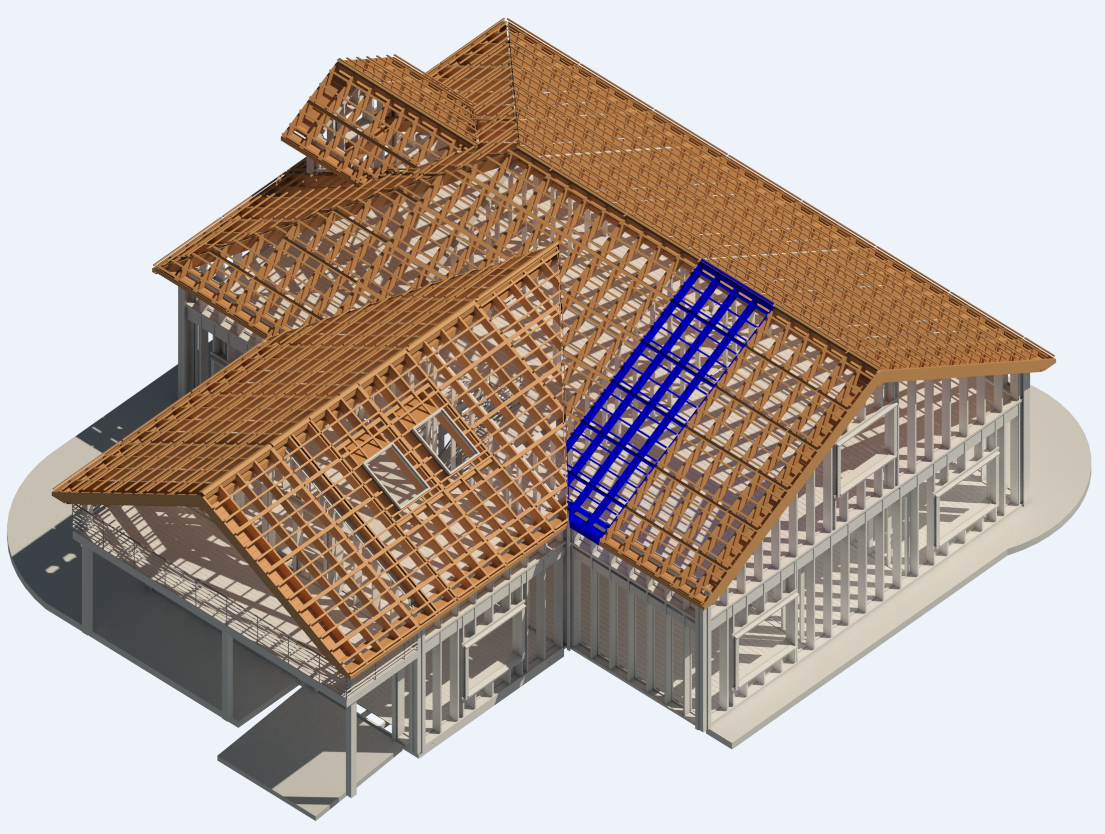 Coming soon new prefabricated wooden roof framing for Roof drawing software