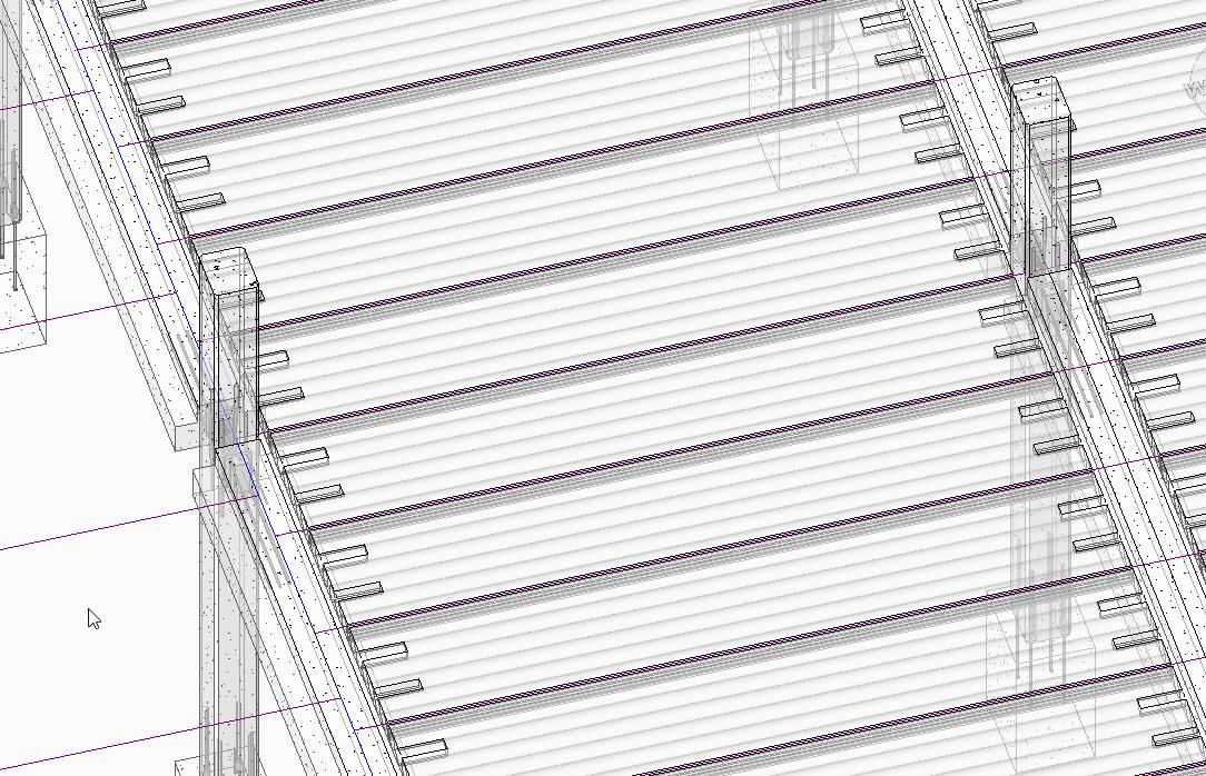 Apply Precast Concrete Revit add-on to Precast Slabs