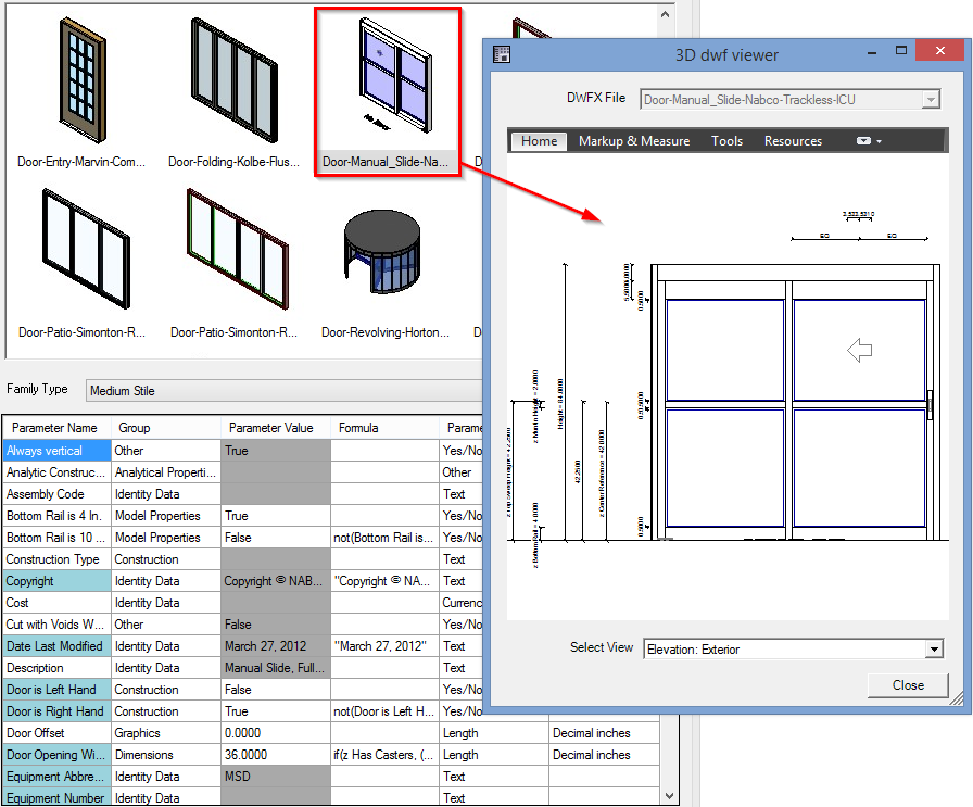 Revit Add-on Smart Browser Free for Family Search