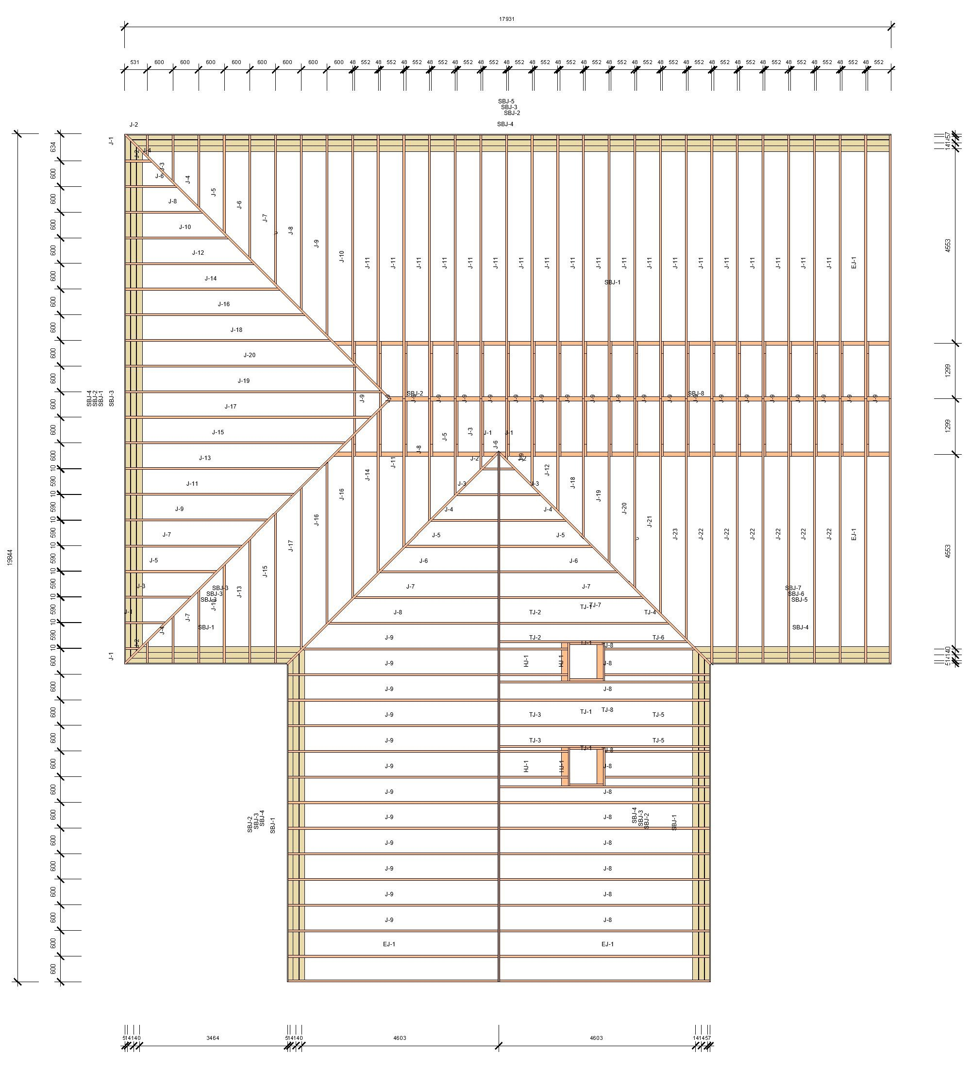NEW FEATURES for Wood/Metal Framing: Automated Rafters in