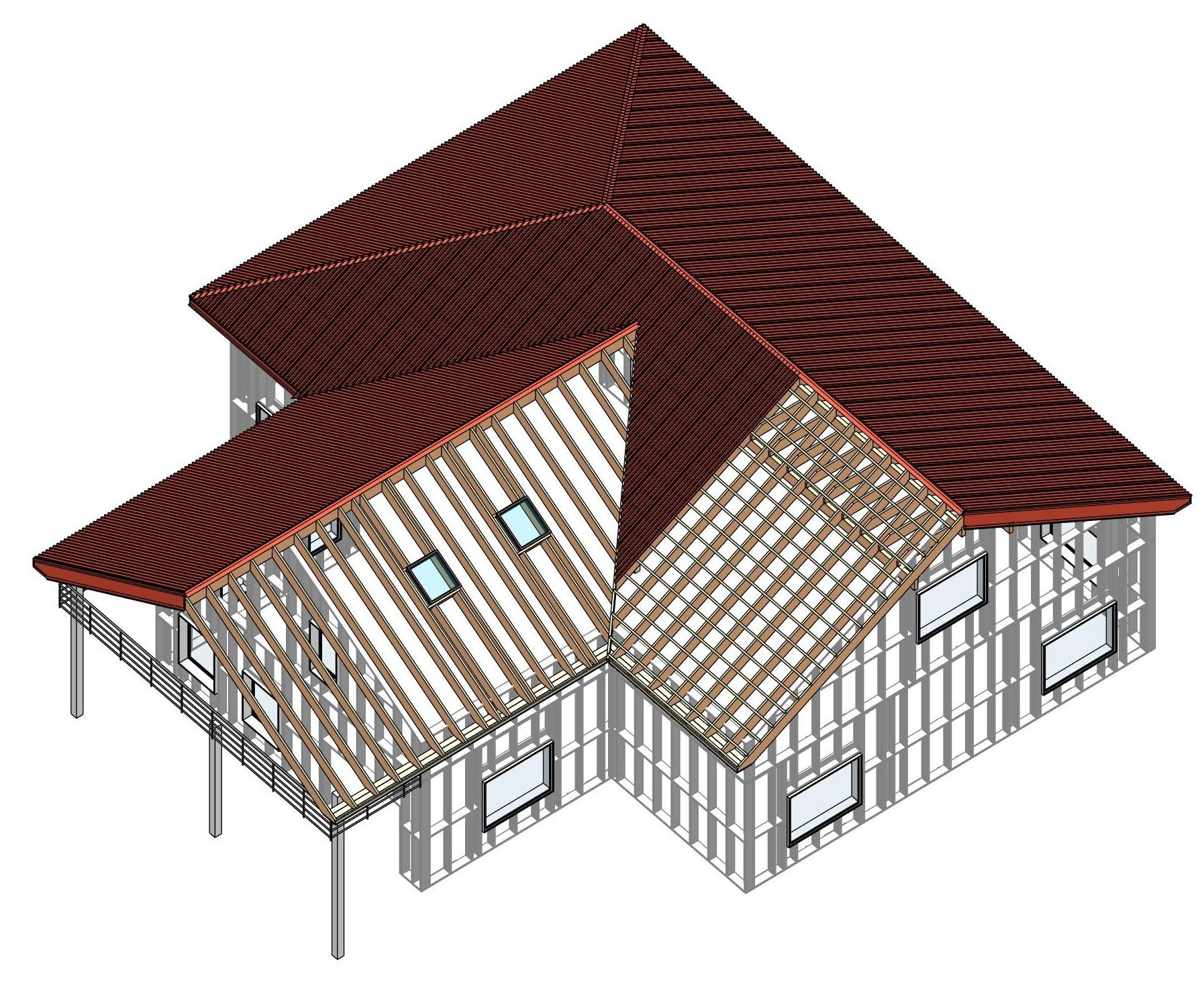 Wood Framing Roof Agacad Tools4bim