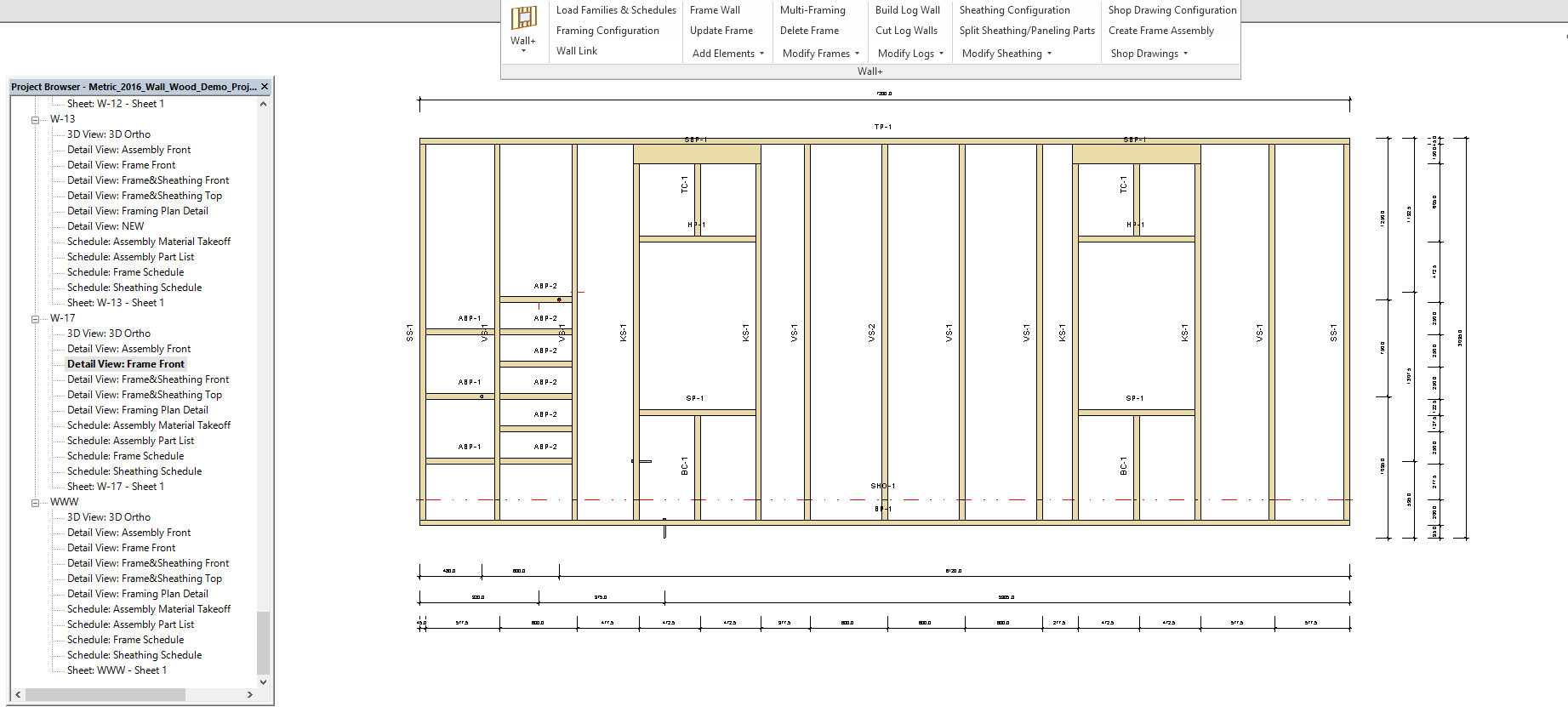 New Smart Dimensions Technology in Framing Software for Revit ...